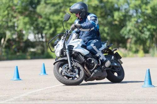 Motorrijbewijspoint Hoofddorp motor rijtest
